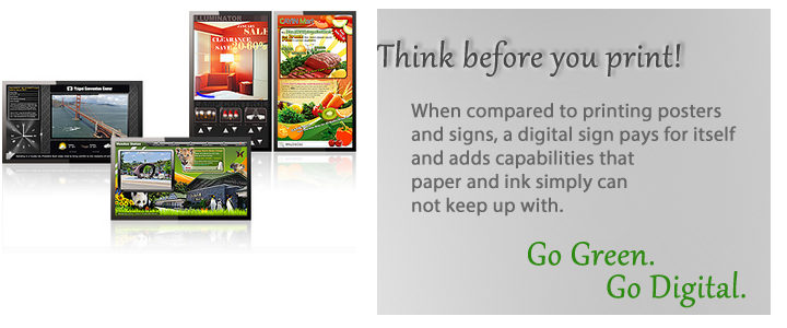Small Business Digital Signage